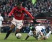 Luis Antonio Valencia en acción durante un partido de la Copa Inglesa