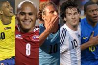 Goleadores-Sudamérica
