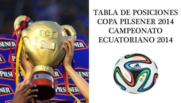 Copa De Plata B Resultados Y Tablas De Posiciones De La: Tablas De Posiciones, Campeonato Ecuatoriano De Fútbol