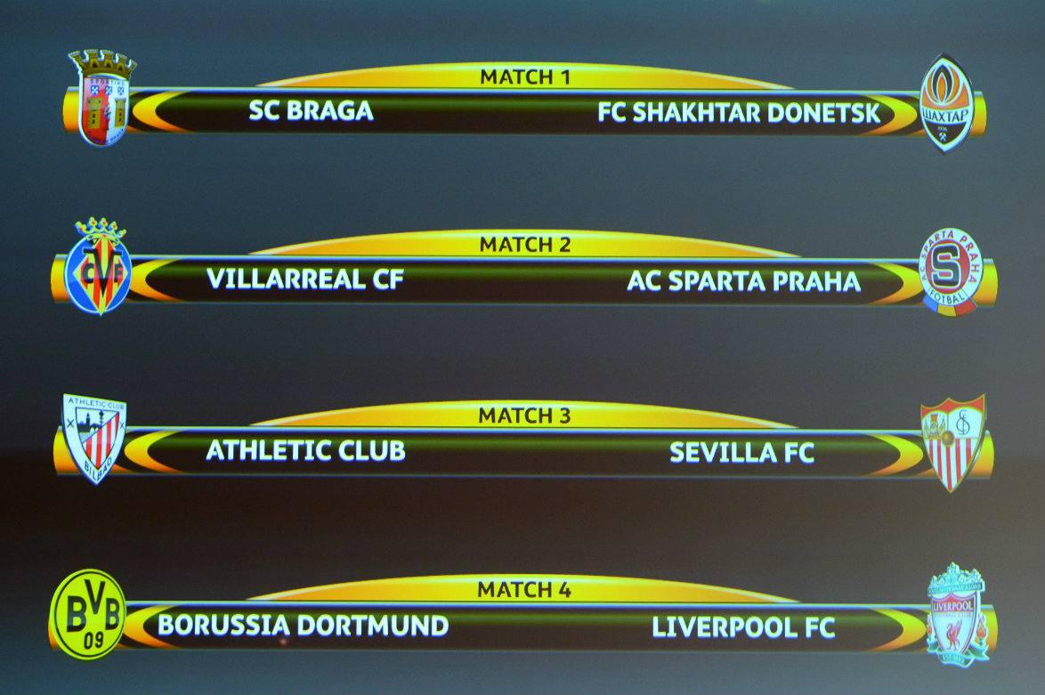 Se definieron los cruces en cuartos de la Europa League | El blog de ...