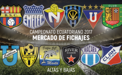 Mercado de fichajes, Copa Banco Pacífico 2017